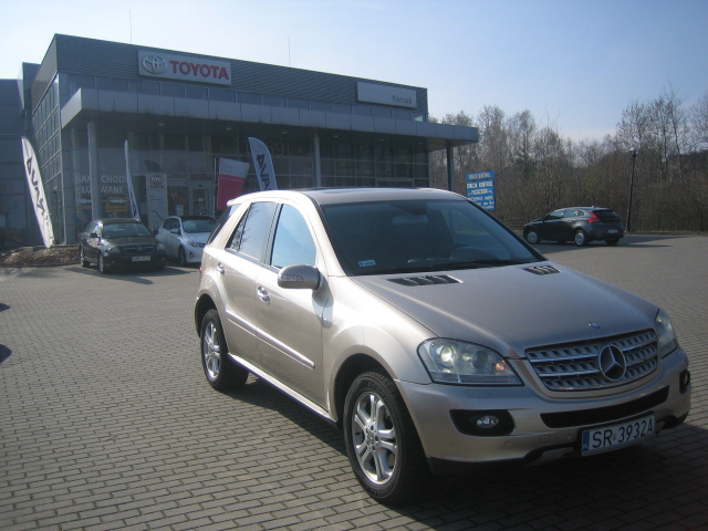 mercedes ml 320 cdi 4 matic 224km inne 2007 r. Black Bedroom Furniture Sets. Home Design Ideas