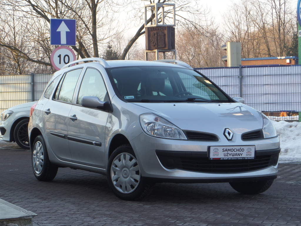 renault clio 1 2 tce 100km wind benzyna 2008 r. Black Bedroom Furniture Sets. Home Design Ideas