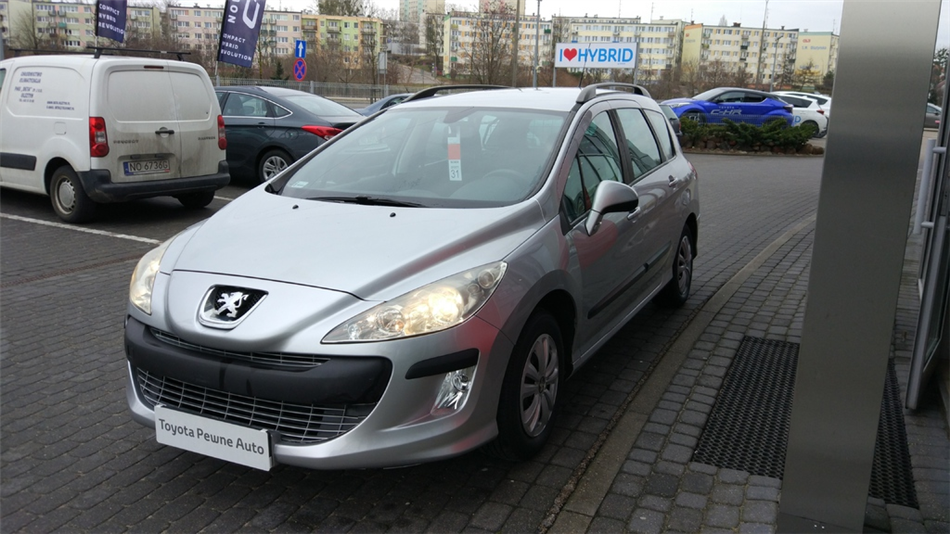 Peugeot 308 1.6 Trendy Benzyna, 2009 r.