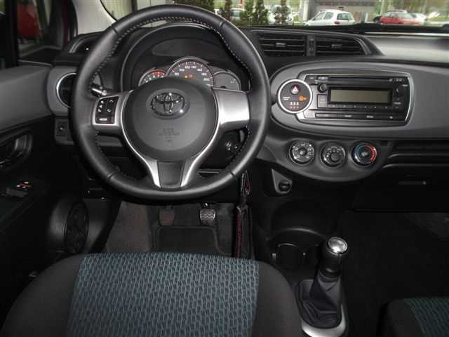 toyota yaris 1 0 active benzyna 2012 r. Black Bedroom Furniture Sets. Home Design Ideas